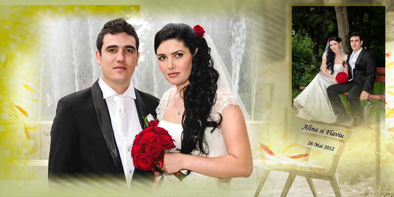 Alina si Flaviu - album foto nunta Bacau