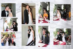 pagina fotocarte cu poze de la casatoria civila
